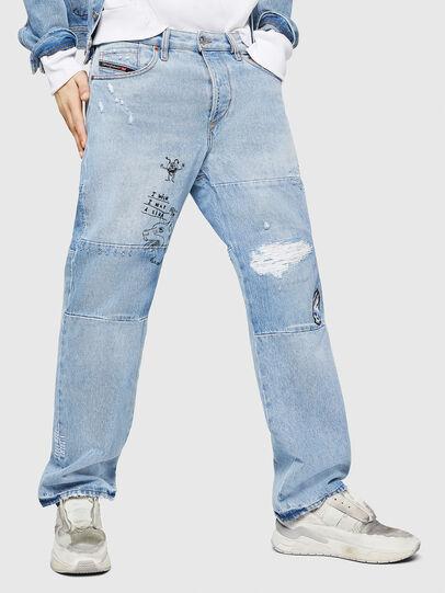 Diesel - D-Kodeck 0078F, Bleu Clair - Jeans - Image 1