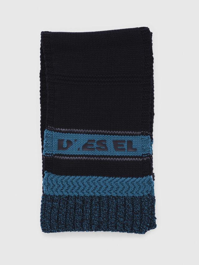 Diesel - CADO-KIT, Noir/Bleu - Écharpes - Image 4