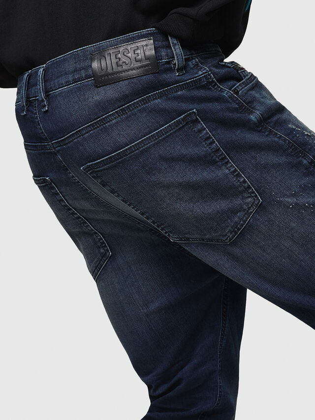 Diesel - D-Vider JoggJeans 069HV, Bleu moyen - Jeans - Image 5