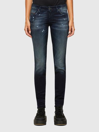 Diesel - GRACEY JoggJeans® 069PZ, Bleu Foncé - Jeans - Image 1