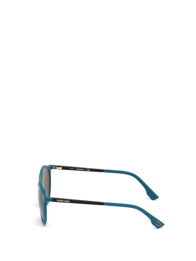 Diesel - DM0195, Bleu - Lunettes de soleil - Image 3