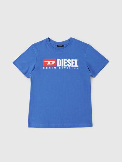 Diesel - TJUSTDIVISION, Bleu Céleste - T-shirts et Hauts - Image 1