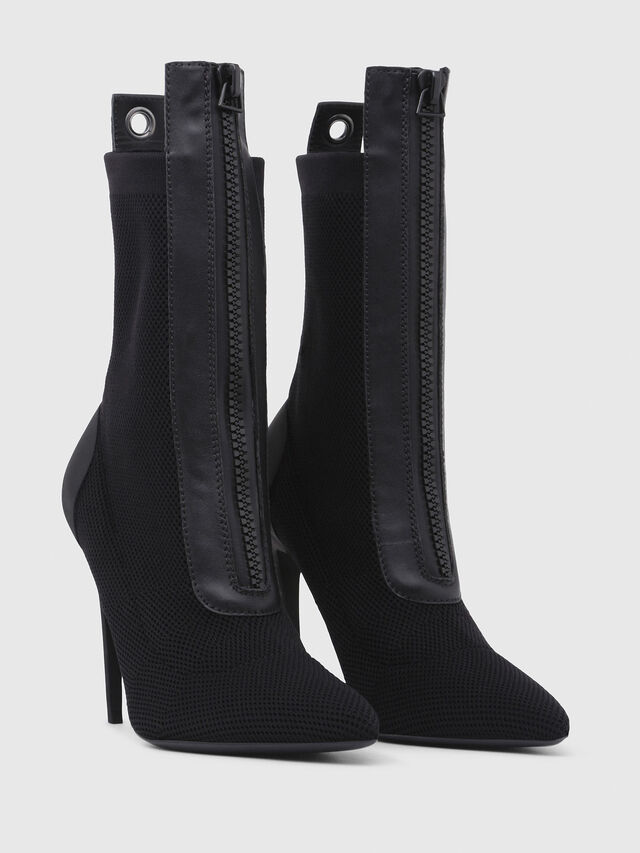 Diesel - D-SLANTY HAS, Noir - Bottines - Image 2