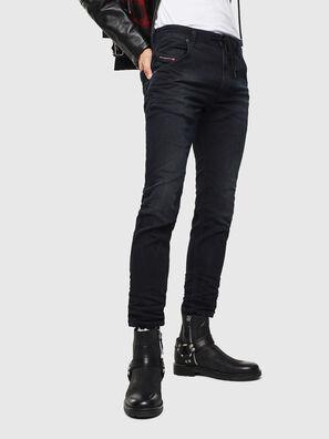 Krooley JoggJeans 069KJ, Noir/Gris foncé - Jeans