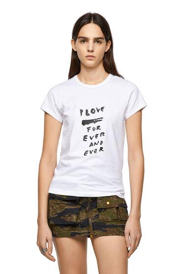 T-shirt avec imprimé Love for Ever