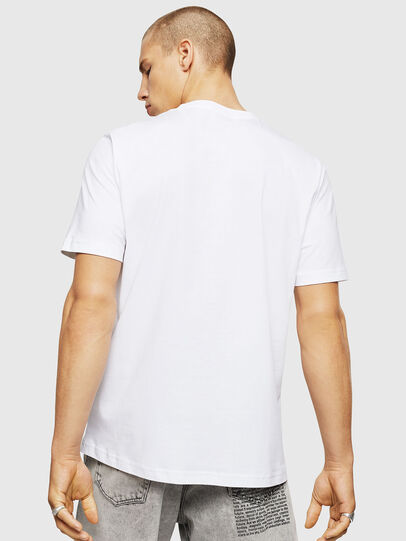 Diesel - T-JUST-A5, Blanc - T-Shirts - Image 2