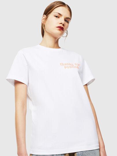 Diesel - T-DIEGO-J20, Blanc - T-Shirts - Image 2