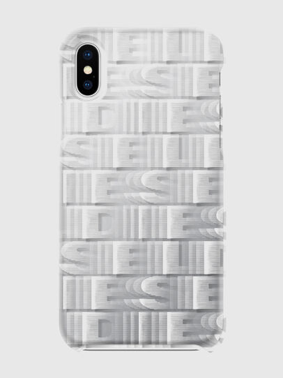 Diesel - DIESEL PRINTED CO-MOLD CASE FOR IPHONE XS & IPHONE X, Blanc - Coques - Image 2