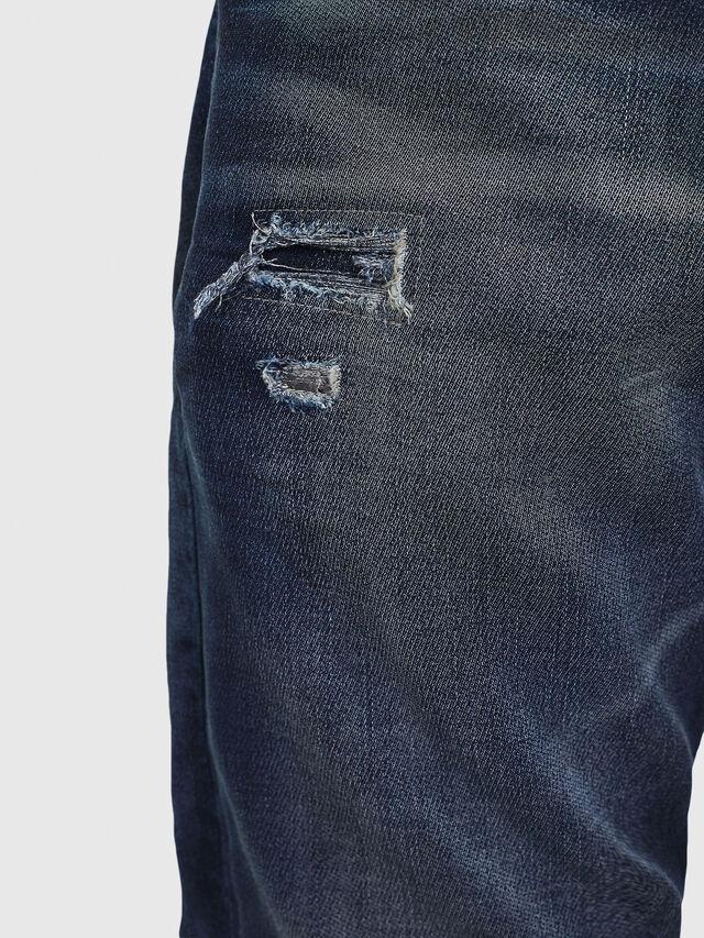 Diesel - Krooley JoggJeans 069GZ, Bleu Foncé - Jeans - Image 3
