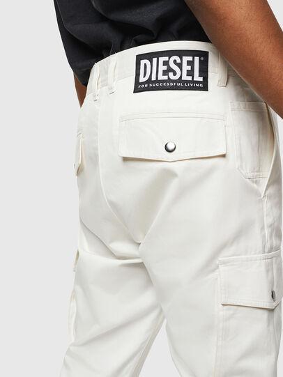 Diesel - P-JARED-CARGO, Blanc - Pantalons - Image 3