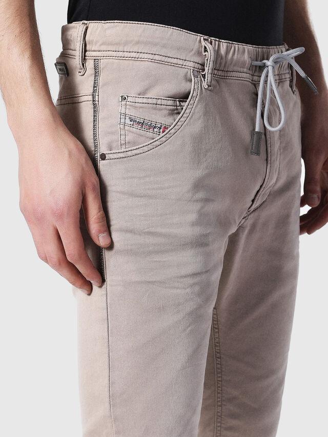 Diesel - Krooley JoggJeans 0670M, Marron Clair - Jeans - Image 3