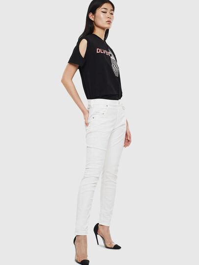 Diesel - Krailey JoggJeans 069DS, Blanc - Jeans - Image 5
