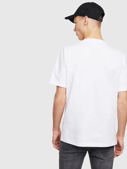 Diesel - T-JUST-T23, Blanc - T-Shirts - Image 4