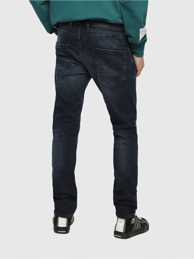 Diesel - Belther 087AS, Bleu Foncé - Jeans - Image 2