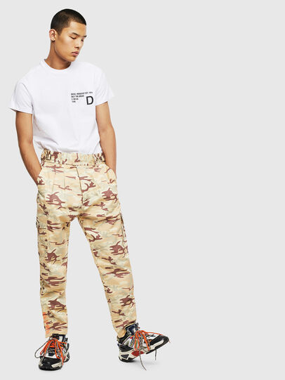 Diesel - T-HOVER, Blanc - T-Shirts - Image 5