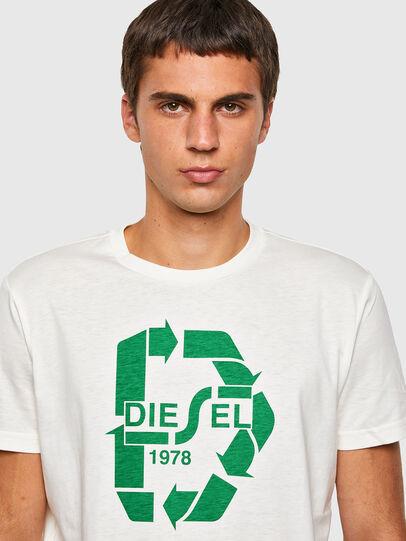 Diesel - T-DIEGOS-N23, Blanc - T-Shirts - Image 3