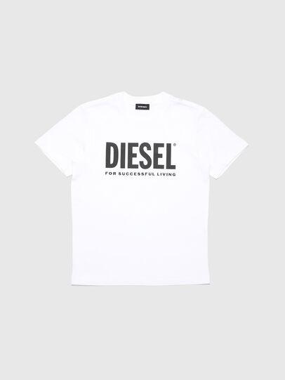 Diesel - TJUSTLOGO, Blanc - T-shirts et Hauts - Image 1
