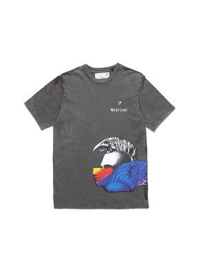 D-5055-G, Noir - T-Shirts
