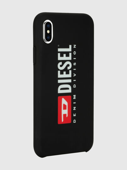 Diesel - DIESEL PRINTED CO-MOLD CASE FOR IPHONE XS MAX, Noir/Blanc - Coques - Image 6