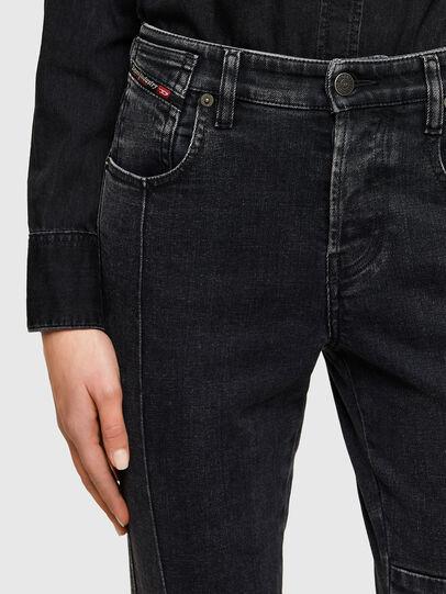 Diesel - Babhila 009UZ, Noir/Gris foncé - Jeans - Image 3