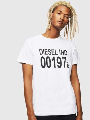 T-DIEGO-001978, Blanc - T-Shirts