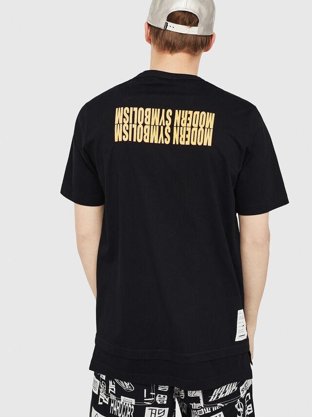 Diesel - T-YORI, Noir - T-Shirts - Image 2