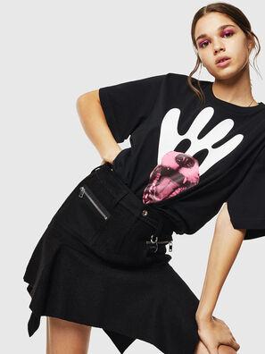 T-JUSTINA, Noir - T-Shirts