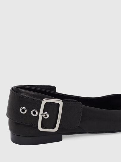 Diesel - D-MOMY BAT, Noir - Chaussures Plates - Image 4