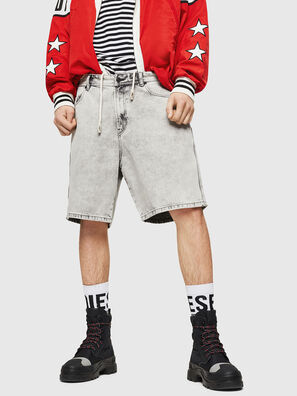 D-WILLOH, Gris Clair - Shorts