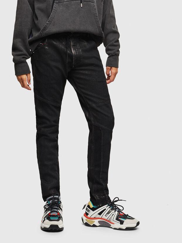 D-Luhic JoggJeans 0092W, Noir/Gris foncé - Jeans