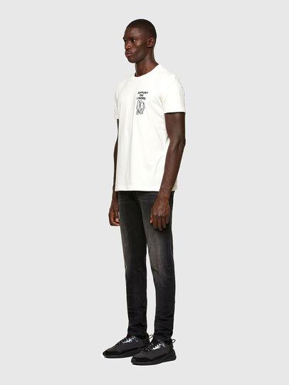 Diesel - T-DORYMO-A1, Blanc - T-Shirts - Image 5