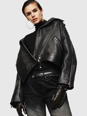 LJESIV, Noir - Vestes de cuir