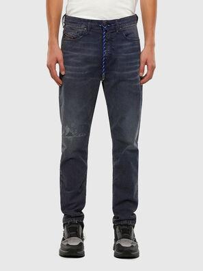 D-Vider JoggJeans 069PR, Bleu Foncé - Jeans