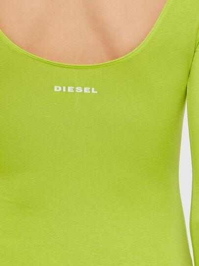 Diesel - UFBY-BODY-LS, Jaune Fluo - Bodys - Image 3