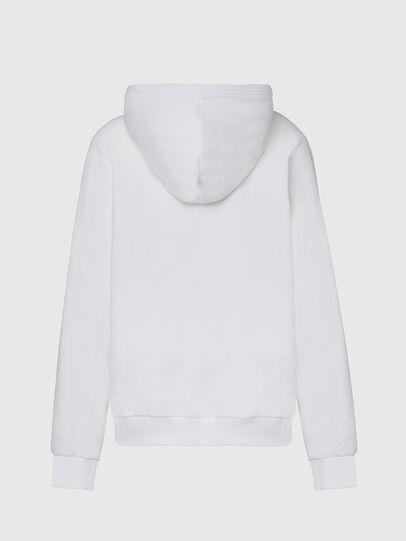 Diesel - F-ANG-HOOD-CUTY, Blanc - Pull Cotton - Image 2