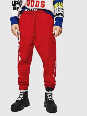 P-ALFREDS, Rouge Flamme - Pantalons