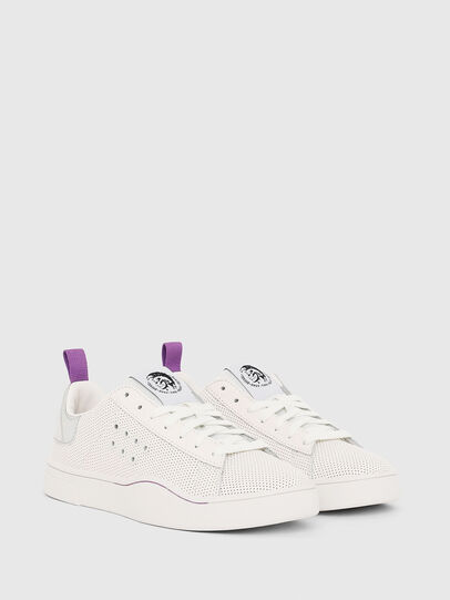 Diesel - S-CLEVER LC W, Blanc/Rose - Baskets - Image 2