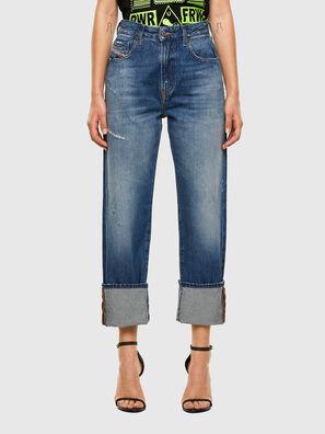 D-Reggy 0097B, Bleu moyen - Jeans