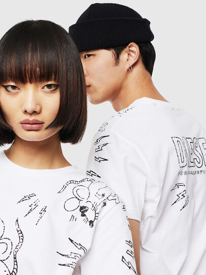 Diesel - CL-T-DIEGO-3,  - T-Shirts - Image 4