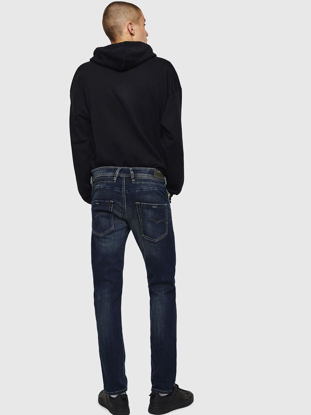 Diesel - Belther 0814W, Bleu Foncé - Jeans - Image 2