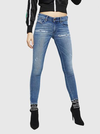 Diesel - Slandy Low 083AP, Bleu moyen - Jeans - Image 1