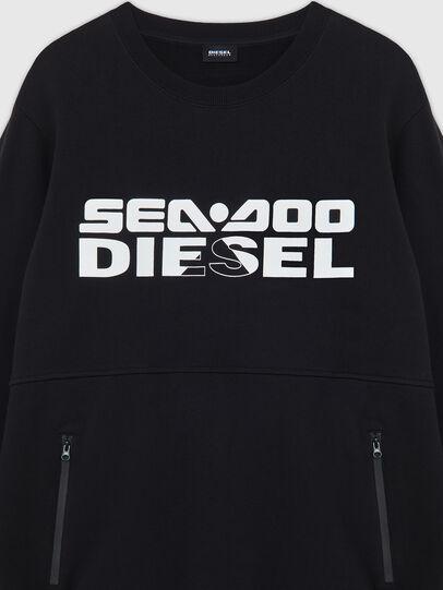 Diesel - BMOWT-ROUNDOO, Noir/Orange - Out of water - Image 3