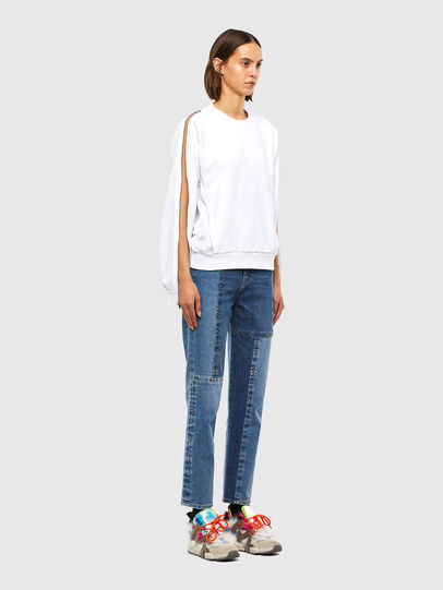 Diesel - F-ROSETTA, Blanc - Pull Cotton - Image 7