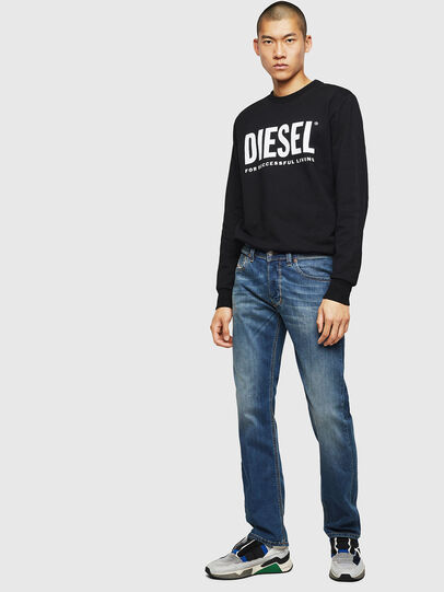 Diesel - Larkee 083AA, Bleu moyen - Jeans - Image 5
