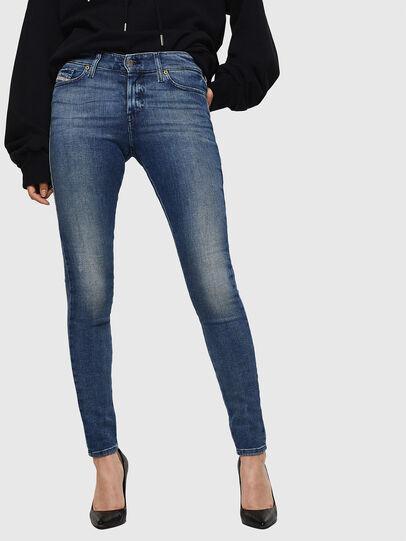 Diesel - Slandy 083AQ, Bleu moyen - Jeans - Image 1