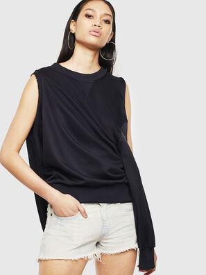 F-INVERT, Noir - Pull Cotton