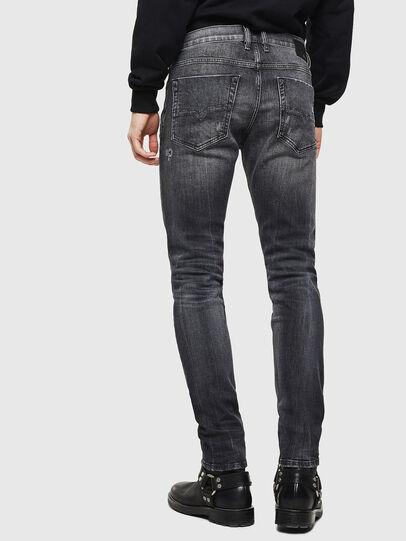 Diesel - Tepphar 0095J, Noir/Gris foncé - Jeans - Image 2