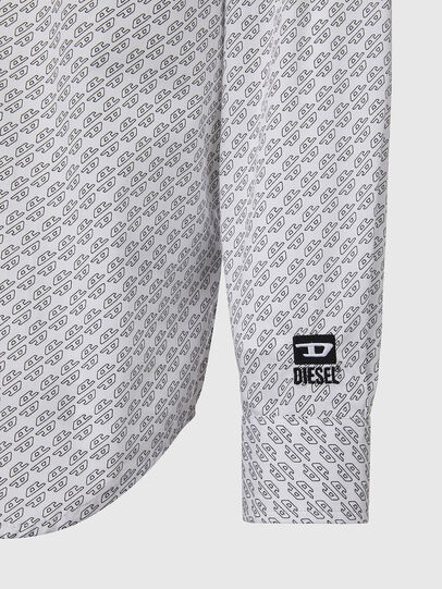 Diesel - S-RILEY-KA, Blanc - Chemises - Image 3