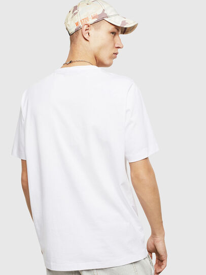 Diesel - T-JUST-POCKET-T17, Blanc - T-Shirts - Image 2