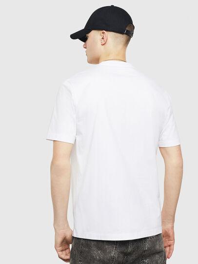 Diesel - T-JUST-T24, Blanc - T-Shirts - Image 2